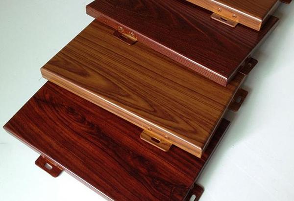 长春仿木纹铝单板